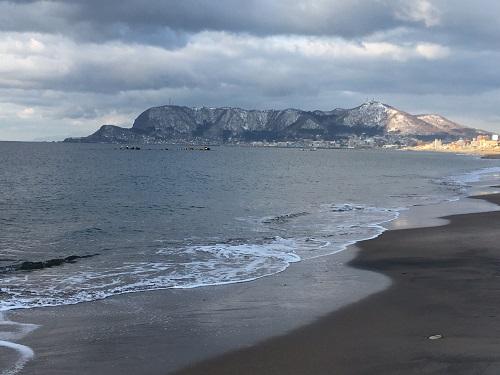 サクラマス釣り 大森浜