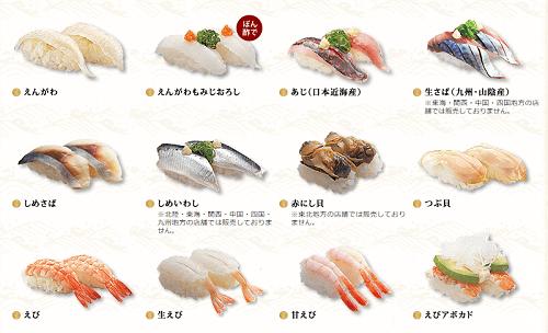 はま寿司青物
