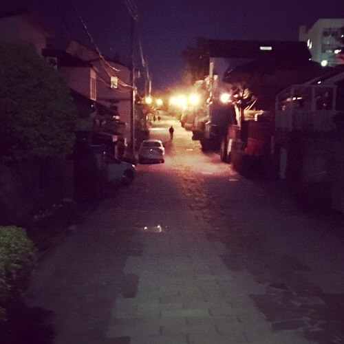 函館の西部地区