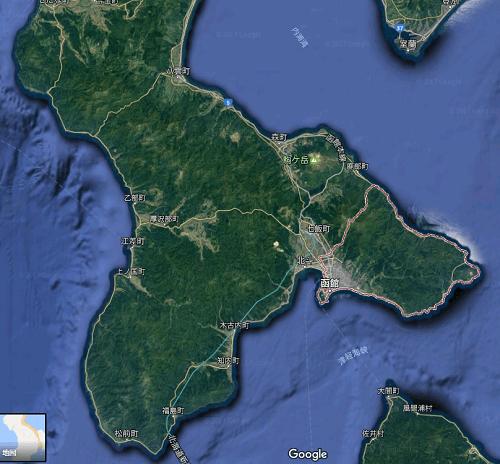 函館のヒラメポイント