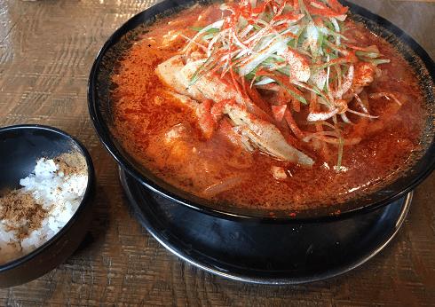 蒙古タンメン中本より激辛かもしれない、北斗市にある中華そば櫓屋の漢の辛味噌ラーメン。