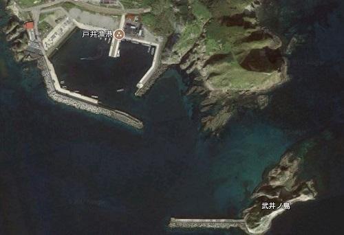 戸井漁港でヒラメ