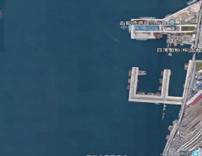 函館船溜まり