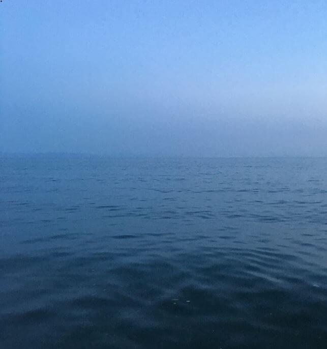 ヒラメの魚影が濃いポイント