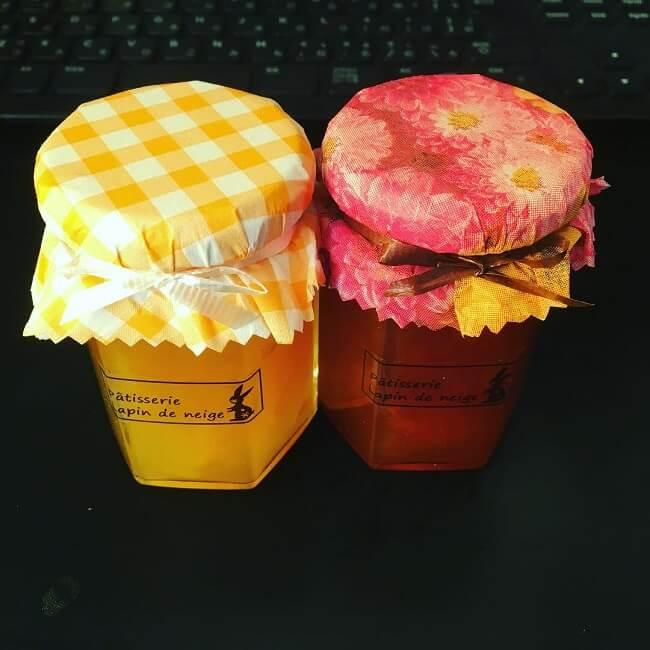 柑橘ジャムとユズマーマレード