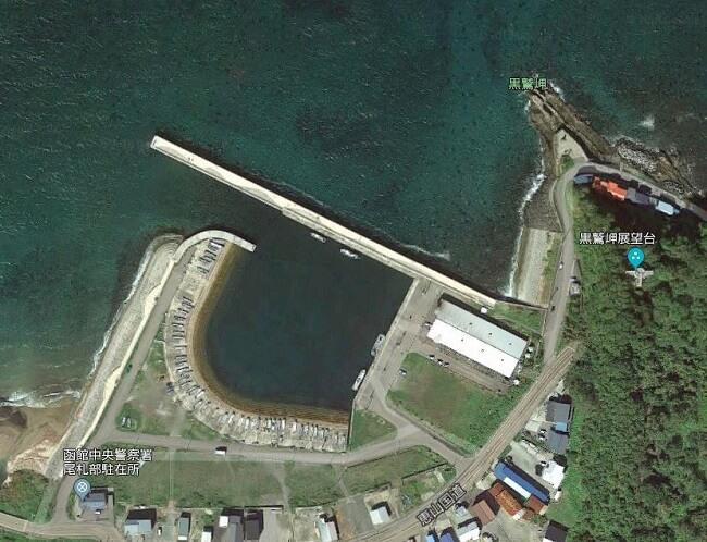尾札部漁港