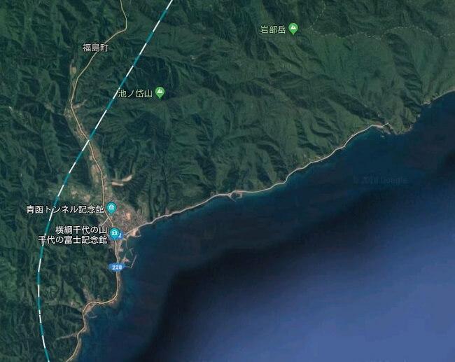 福島町方面