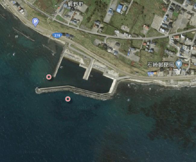 石崎漁港ヒラメポイント