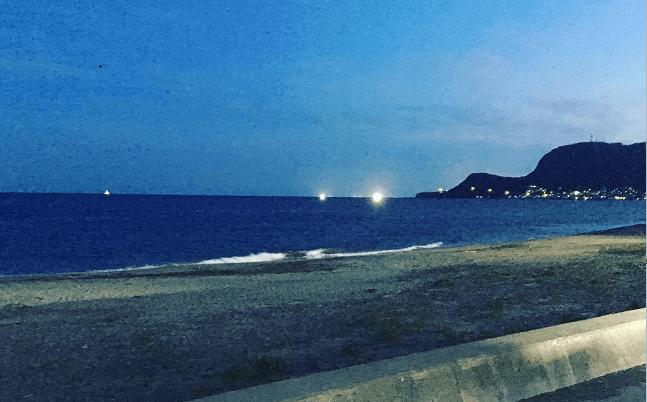 函館の漁火