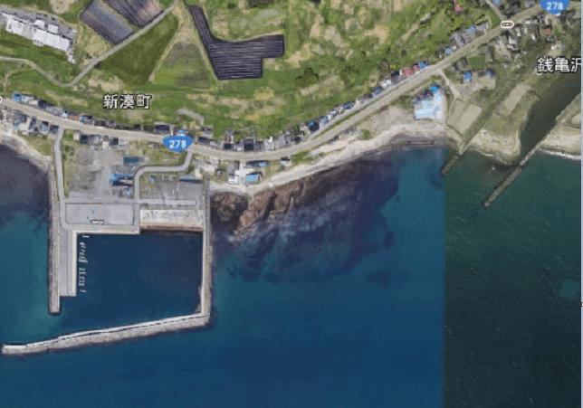 新湊漁港のヒラメ狙いポイント