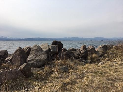 函館山の裏の方