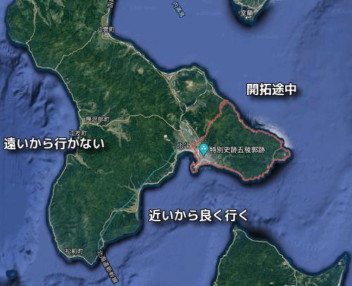 函館の釣りポイント
