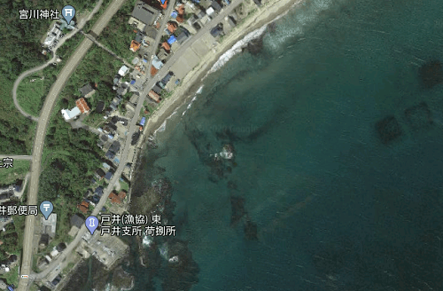 浜町のワンドサーフ