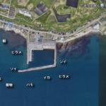 函館の新湊漁港から黒岩方面の釣りポイント