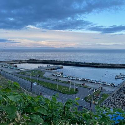 石崎漁港の絶景