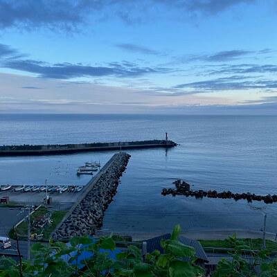 函館石崎漁港の絶景ポイント