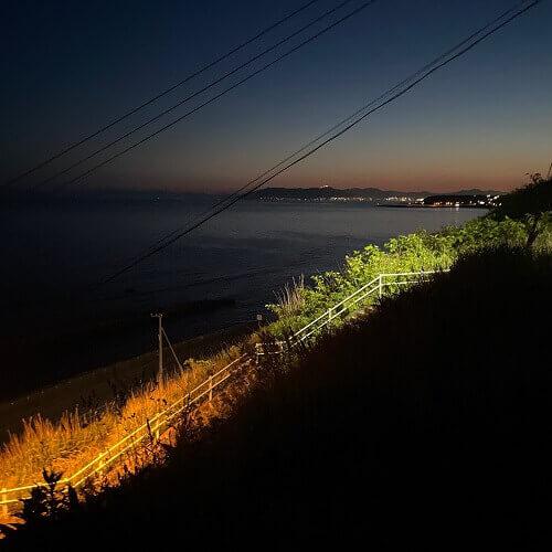 函館の綺麗な夜景