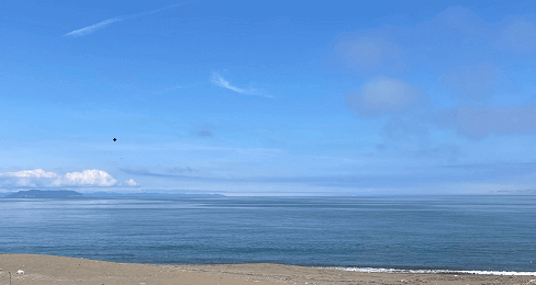 津軽海峡でヒラメ狙い