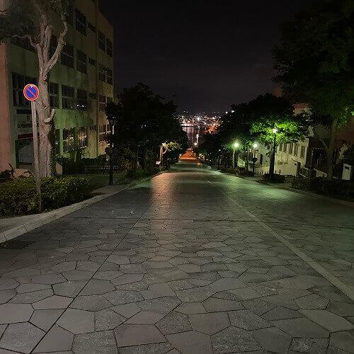 函館の八幡坂