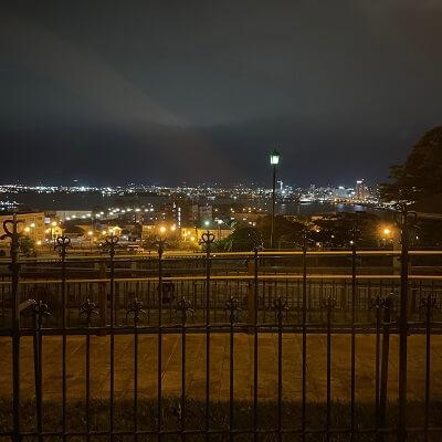 公会堂からの夜景