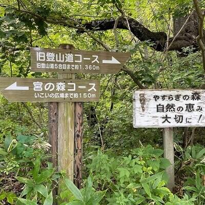 函館山登山道案内