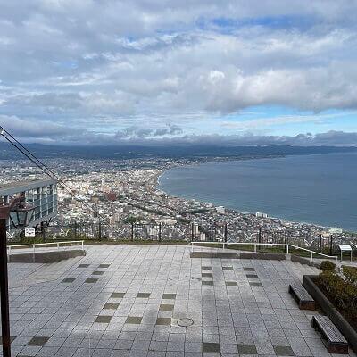 函館山から見た昼の景色